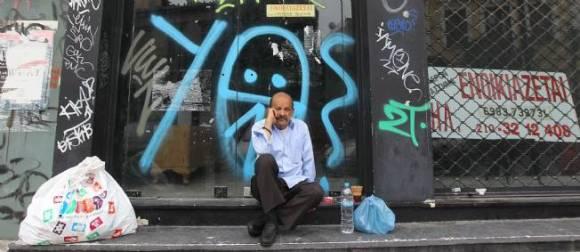 En Grèce, le taux de chômage s'inscrit à 27,6%. © Orestis Panagionotou / Maxppp