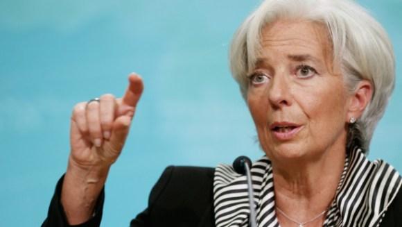 Christine Lagarde, ancienne ministre de l'Économie de 2007 à 2011 et actuellement directrice générale du Fonds monétaire international (FMI)
