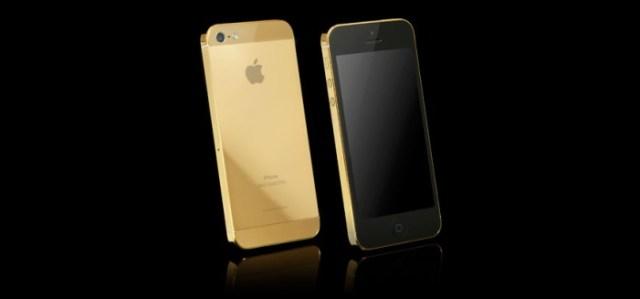 L' iPhones Gold de Apple.