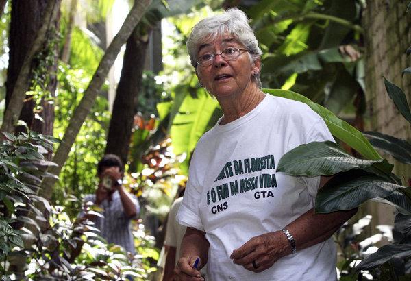 Dorothy Stang à Belem, au nord du Brésil