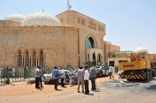 La capitale soudanaise Khartoum après des émeutes qui ont éclaté à la suite d'une décision du gouvernement de supprimer les subventions aux carburants.
