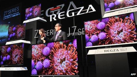 Toshiba a tenté de restructurer les opérations de sa division de télévision.