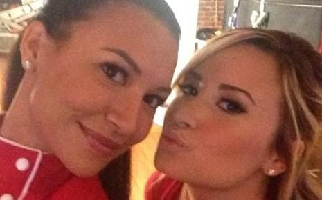 Naya Rivera et Demi Lovato