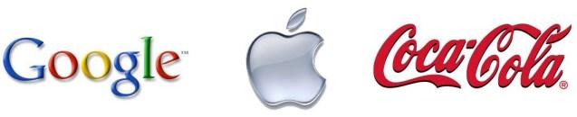 n ° 1 Apple, n ° 2 Google et n ° 3 Coca-Cola.