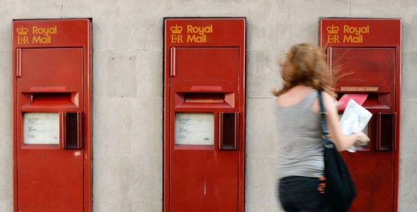 Le Royal Mail en Grande-Bretagne doit être vendu