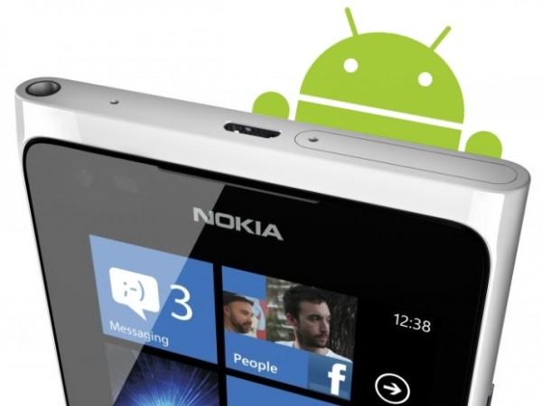 Nokia a construit des versions de ses Smartphones Lumia qui pourrait fonctionner Androïde
