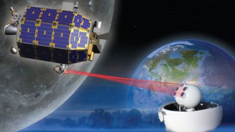 La NASA a utilisé des faisceaux laser pour transférer des données
