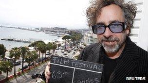 Burton a été président du jury du Festival de Cannes en 2010