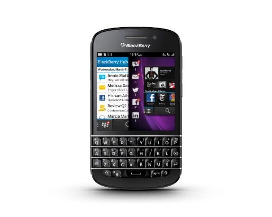 Blackberry a commencé à déployer la mise à jour Blackberry OS 10.2