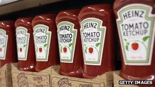 McDonald utilise ketchup Heinz plus à l'extérieur des États-Unis qu'à ailleurs