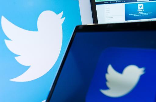 Le logo du réseau social «Twitter» est affiché sur un écran d'ordinateur à Londres