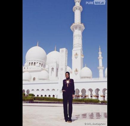 Le photoshoot de Rihanna à la mosquée d'Abu Dhabi