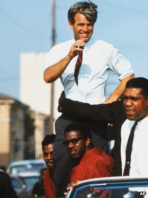 Eppridge a couvert la campagne électorale de Robert Kennedy.