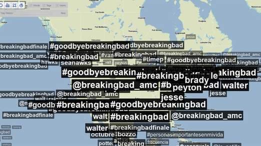 Les hashtags de Breaking Bad ont inondé Twitter depuis la fin de la série.