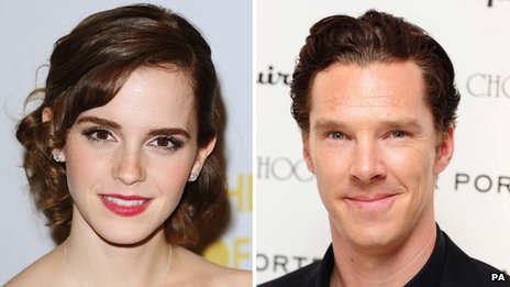 Emma Watson et Cumberbatch