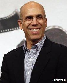 M. Katzenberg a également été nommé Personnalité de l'année du Mipcom