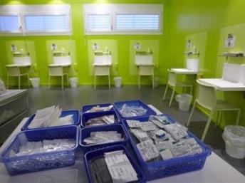 Un centre d'injection de drogue à Genève