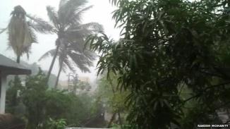 Le Cyclone Phailin est décrit comme la plus grosse tempête dans la région depuis 14 ans