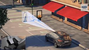 Ford utilise une série de capteurs pour détecter le danger d'une collision