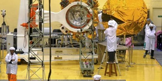 La fusée qui emmène le satellite Mars Orbiter, aussi surnommé Mangalyaan, doit décoller mardi 5 novembre