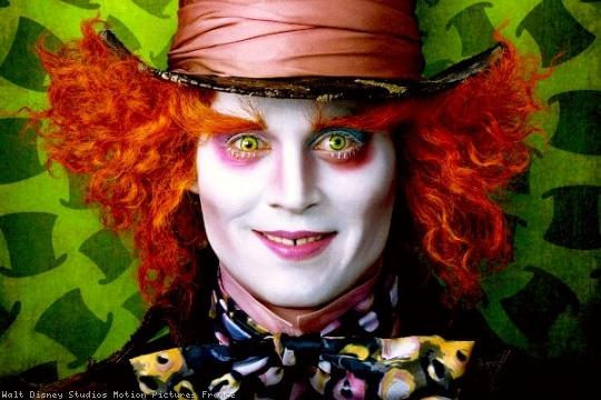 Johnny Depp reprendra son rôle du Chapelier Fou