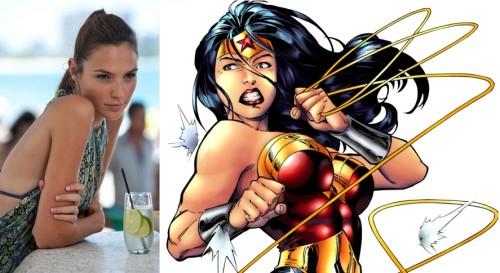 Gal Gadot officiellement Wonder Woman la princesse Amazone dans Man of Steel 2