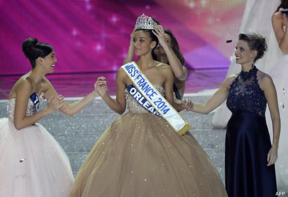 Flora Coquerel est élue Miss France 2014