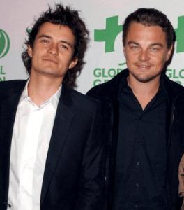 Orlando Bloom et Leonardo DiCaprio