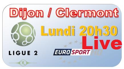 Dijon-Clermont Foot-Streaming-Live