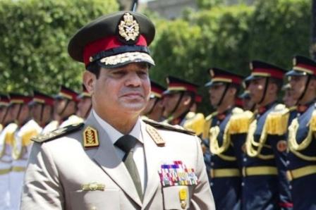 Le général Abd al Fatteh Al Sisi