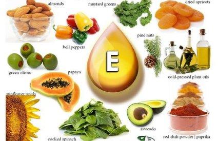 Aliments contenant la vitamine E