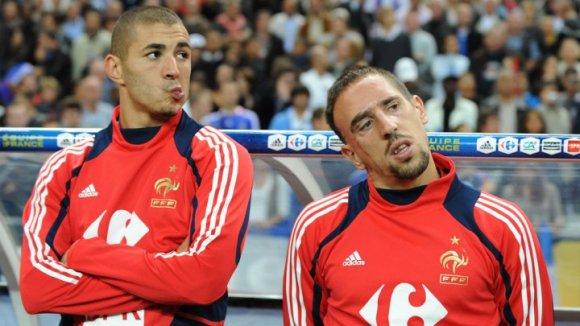 Le procès de Ribéry et Benzema dans l'affaire Zahia a lieu aujourd'hui