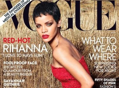 Rihanna pose pour vogue