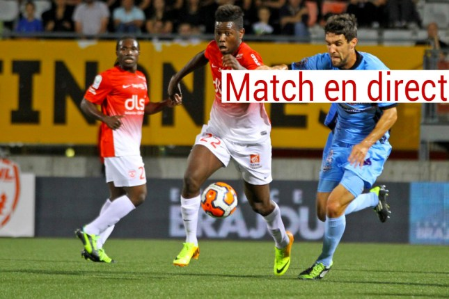 Tours Nancy en live direct streaming