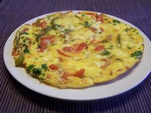 omelette-aux-poivrons
