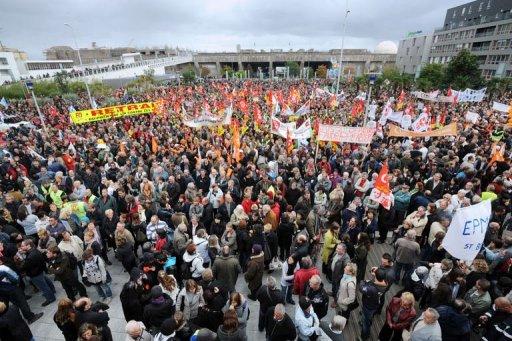 Des manifestations en France