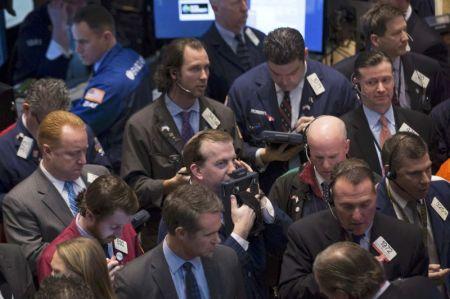 Les investisseurs craintifs quant à la situation en Ukraine.