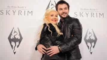 Christina Aguilera et son fiancé Matt Rulter