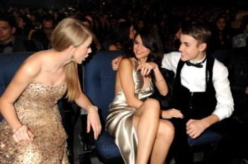 Taylor-Selena-Justin