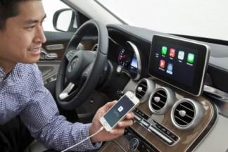 accéder à son iPhone depuis l'écran de sa voiture