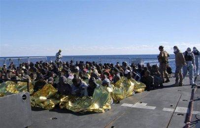 le sauvetage de 1200 migrants