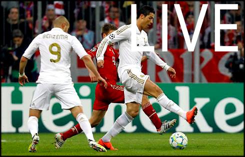 Match Bayern - Real en direct