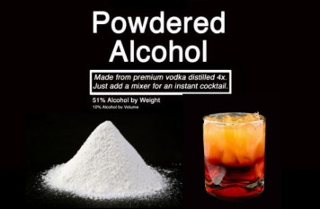 L'alcool en poudre est baptisé Palcohol