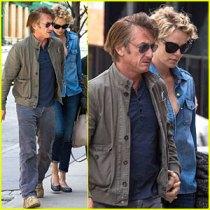 Charlize Theron et Sean Penn