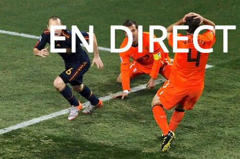 Espagne - Pays-Bas