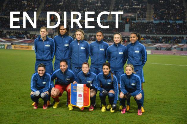 Match football féminin France - Brésil en direct