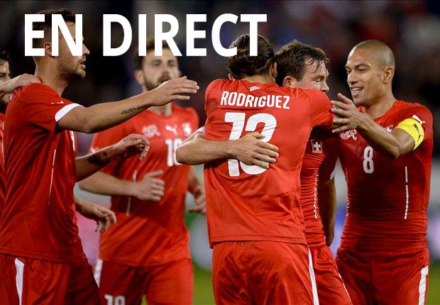 Match Suisse Equateur en direct tv et streaming sur Internet