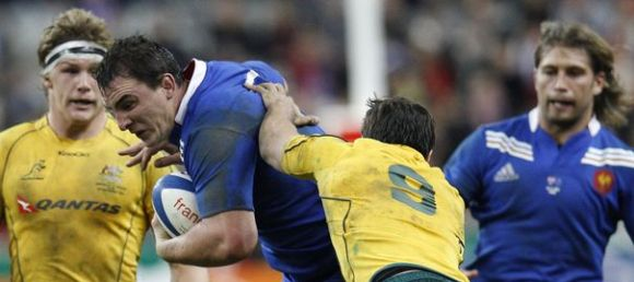 Test-Match Rugby Australie - France