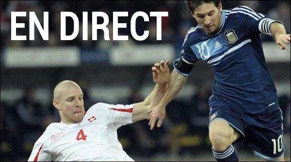 Match Argentine Suisse en direct tv et streaming sur Internet