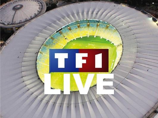 Voir le Match en Direct TF1 de Coupe du Monde 2014 Video Streaming TV Gratuit